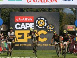 Absa Cape Epic: Van der Heijden y Frischknecht ganan la cuarta etapa