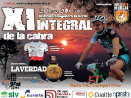 Quinientos bikers participan en la XI Integral de La Cabra