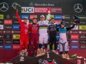 Copa del Mundo: Loïc Bruni y Rachel Atherton, ganadores de la prueba de DH en Vallnord
