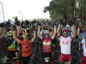 Francesc Guerra y Mar�a Calleja, ganadores de la Transgrancanaria Bike 2019