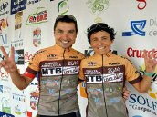 Jos� Luis Carrasco y Cristina Barber�n, vencedores de la Vuelta Andaluc�a MTB