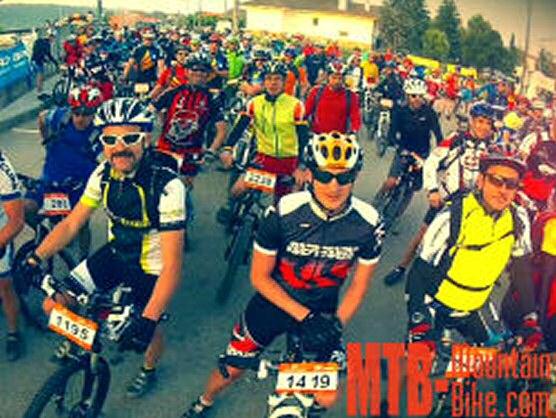 La Cabrerès BTT 2013 reunió a 3.000 bikers