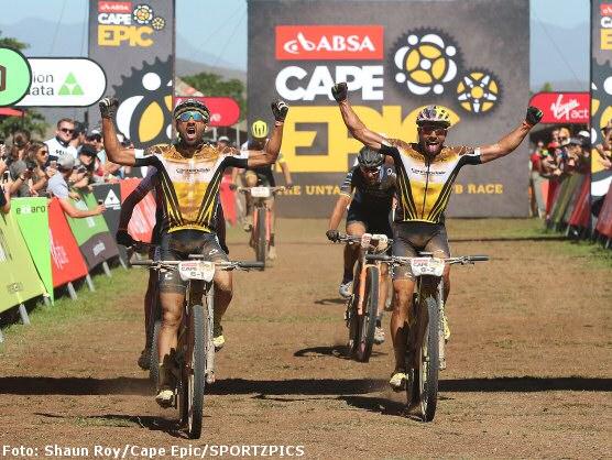Cape Epic: La Cannondale Factory Racing remporte également la deuxième étape