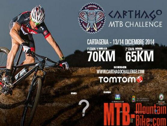 Carthago MTB Challenge, 13 y 14 de diciembre en Cartagena (Murcia)