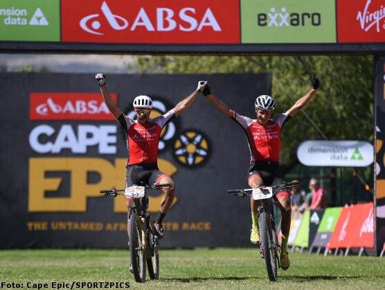 Cape Epic: Centurion Vaude gagne la quatrième, Investec Songo Specialized continue de mener