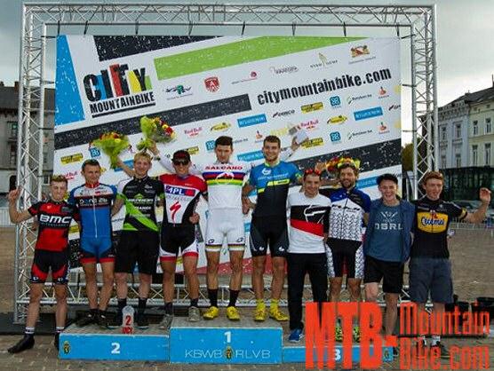 Fabrice Mels, gana su tercer t�tulo nacional consecutivo y City Mountainbike en Gent