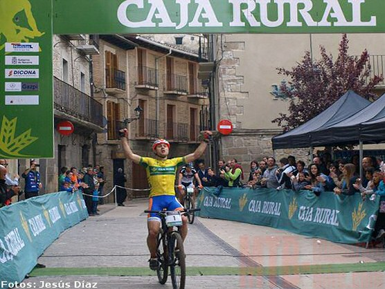 Copa Caja Rural BTT: Diego Latasa vence también en Lumbier