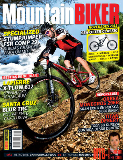 Número 2 de la revista 100% Mountain Biker