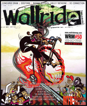Número 50 de Wallride Bike Magazine