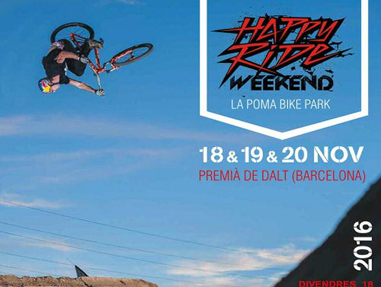 La Poma Bikepark se prepara para el IX Happy Ride Weekend