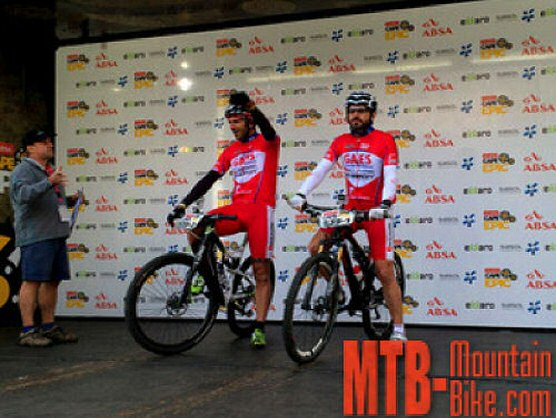 El equipo Imparables, `finisher´ de la Absa Cape Epic