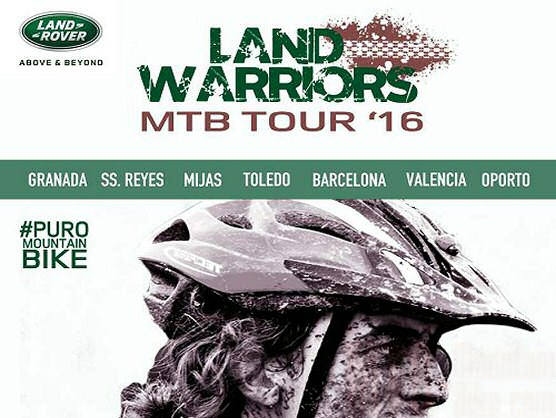 Land Warriors MTB Tour se disputará sobre 7 carreras en España y Portugal