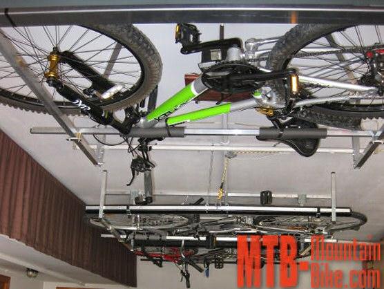 Macsis te permitir guardar bicicletas en techos de for Techos para garajes