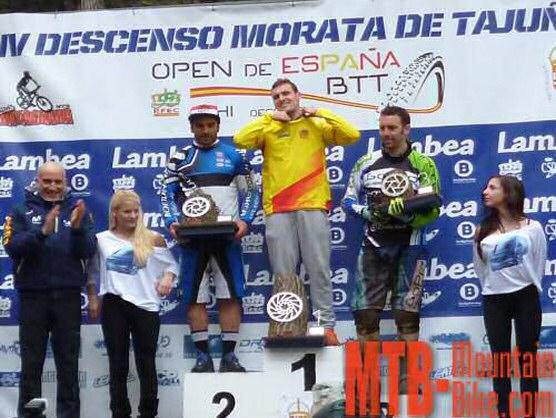 Toni Ferreiro y Blanca Juli�, ganadores en Morata y l�deres del Open de Espa�a DH