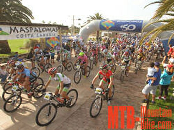 El Bike Festival 2012 alberg� el 8� Open Mountain Bike Gran Canaria