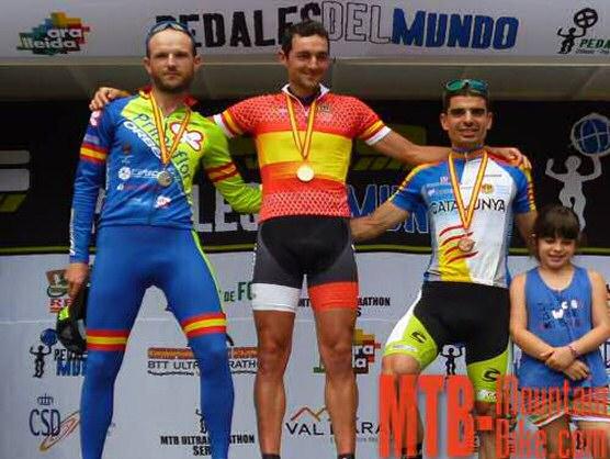 Brandan M�rquez, primer Campe�n de Espa�a de MTB-Ultramarat�n