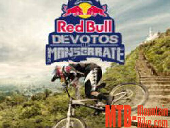 Filip Polc se impone en el Down Hill Red Bull Devotos De Monserrate, Colombia