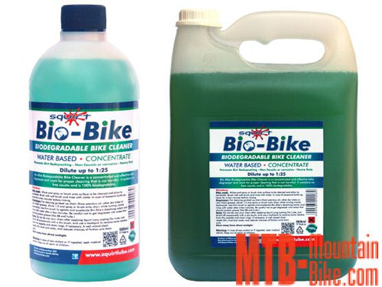 Disponiles los formatos concentrados de Squirt Bio-Bike de 500ml y 5 litros
