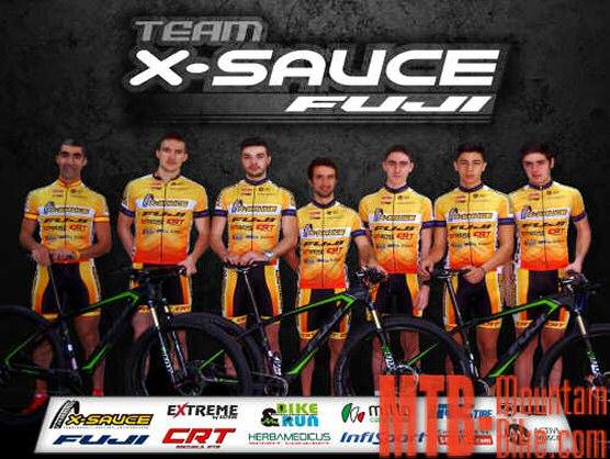 X-Sauce Fuji Team presenta su plantilla para la temporada